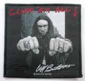 Metallica - 'Cliff Burton - Cliff 'em All ' Woven Patch